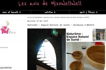 Naturôme sur MissWellWell