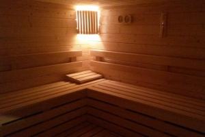 Un des sauna de Naturôme