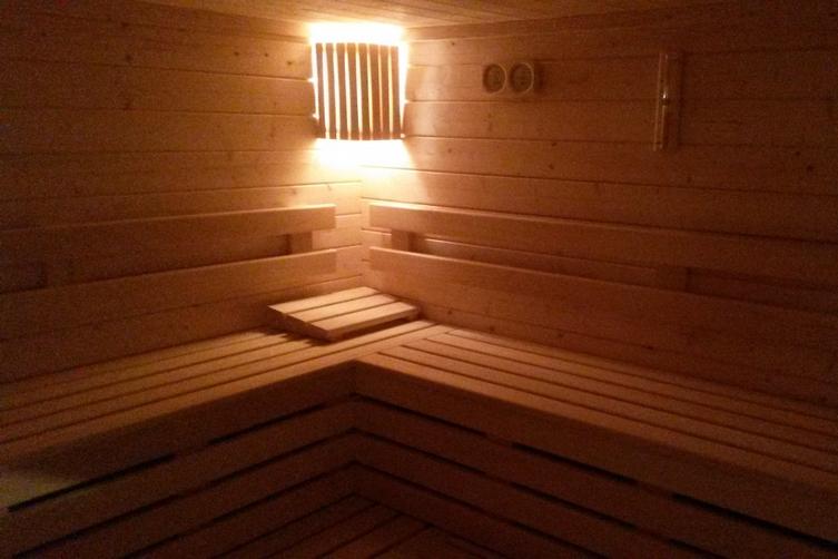 Un des saunas de Nautôme