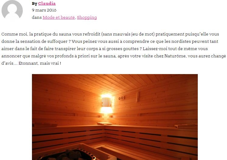 2016-03-09_VeggieBulle On a testé le sauna sec chez Naturôme