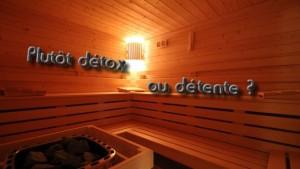 Sauna détox détente