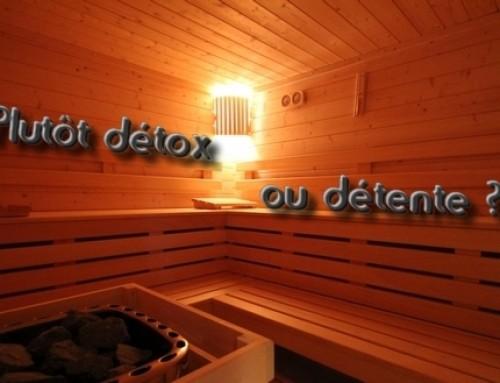 Sauna : plutôt détox ou détente ?