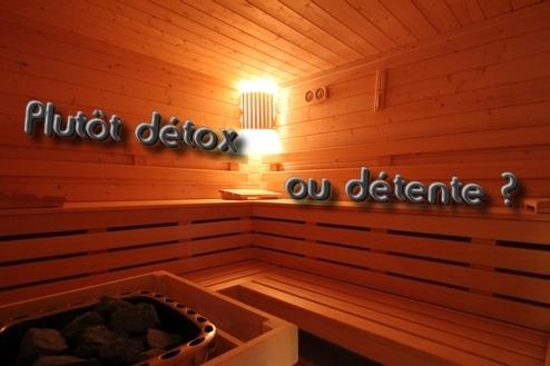 Sauna détox ou détente