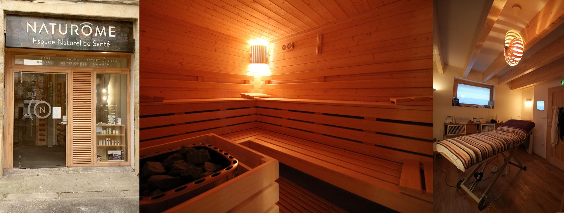 Naturôme sauna Bordeaux