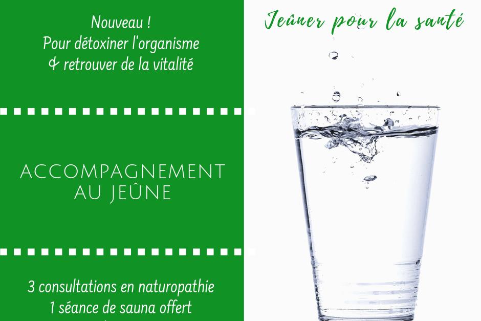 Accompagnement au jeûne © Naturôme Bordeaux