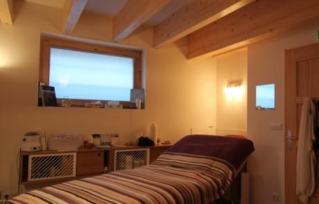 Salle de massage © Naturôme Bordeaux