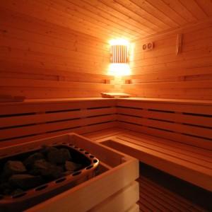 Un des saunas de Naturôme - naturopathe Bordeaux