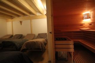 Sauna et salle de repos © Naturôme Bordeaux